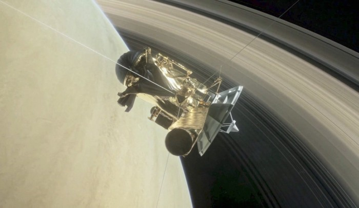 La NASA anuncia el gran final de Cassini